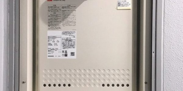 中野区にて壁掛形1台+給湯器1台入替え工事