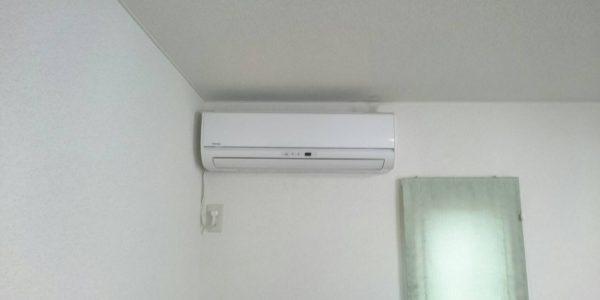 文京区にてガスエアコンから電気式エアコンへの入替工事