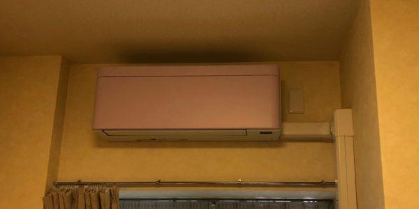 江東区にてルームエアコンから壁掛2台マルチへの入替工事(risora)
