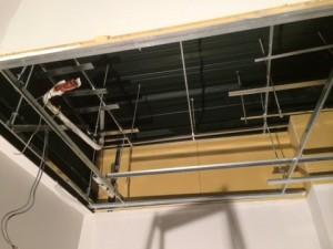 6(室内機取り外し後の天井)